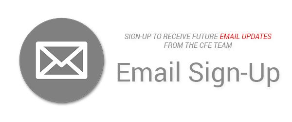 Banner for Email Subscription sign up