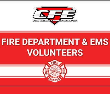 CFE's Fire & EMS Volunteers