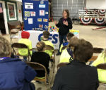 CFS Presents at Safety Camp to Fairmont Area Fourth Grade Students