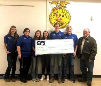 CFS Foundation Presents a $3,000 Grant to the Owatonna FFA Chapter