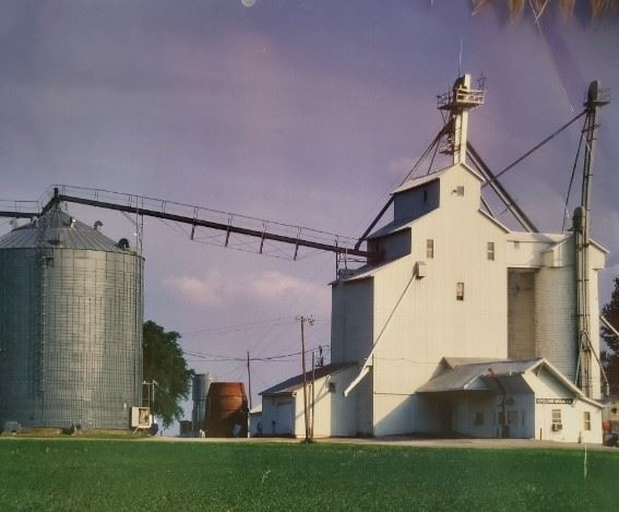 Cyclone Grain Company featured in the 2017 north american grain elevators calendar