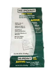 Hi-Point Dog & Cat Food Products