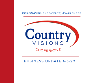 COVID-19 Business Update for Country Visions 4/3