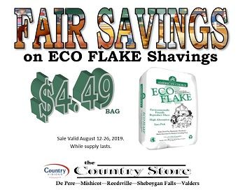 Savings on Shavings for Fair Exhibitors