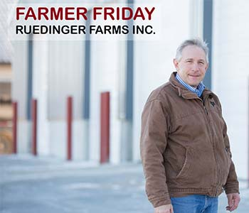 John Ruedinger of Ruedinger Farms, Inc.