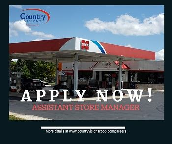 Assistant C-Store Manager - Reedsville, WI