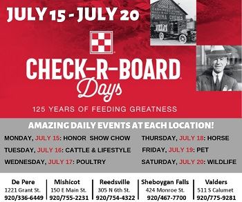 Check-R-Board Days July 15-20th