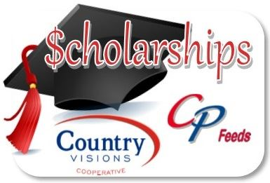 Country Visions Cooperative and CP Feeds Partner to Offer 20 - $1000 Scholarships