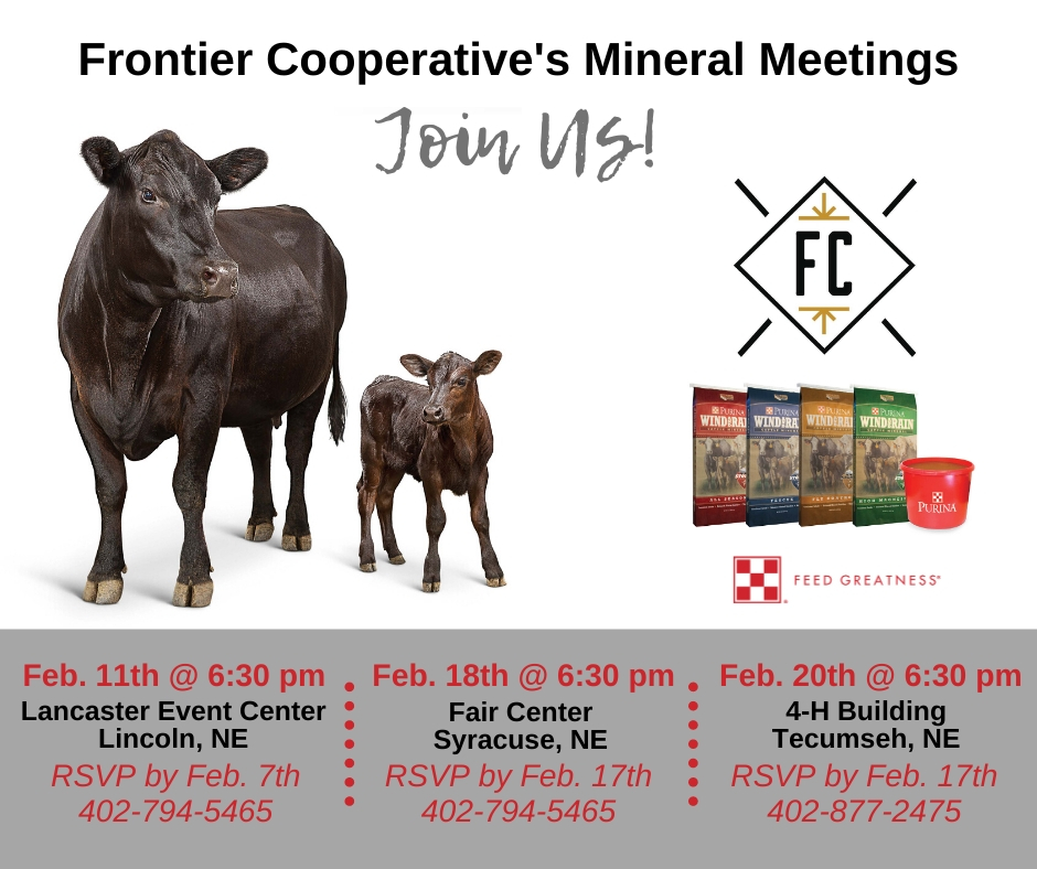 Frontier Cooperative Mineral Meeting Series