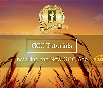 New GCC App Tutorial