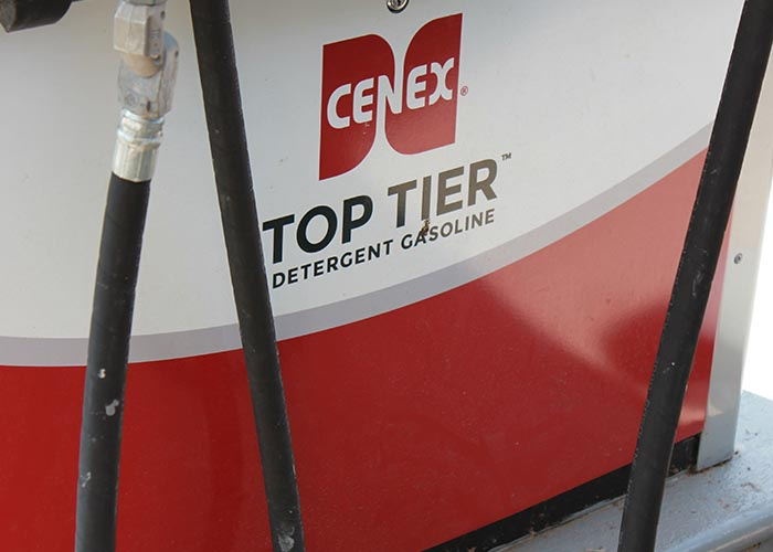 Image of Gasoline Pumps with Cenex Logo