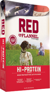 Red Flannel - Hi-Protein Dog Food