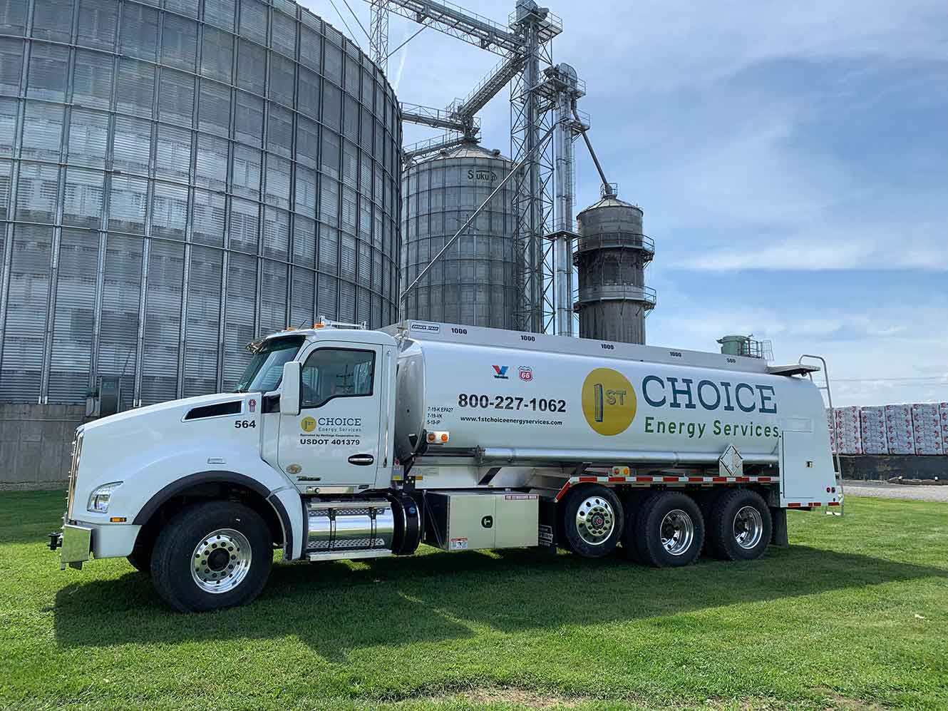 1st Choice Energy bulk delivery truck