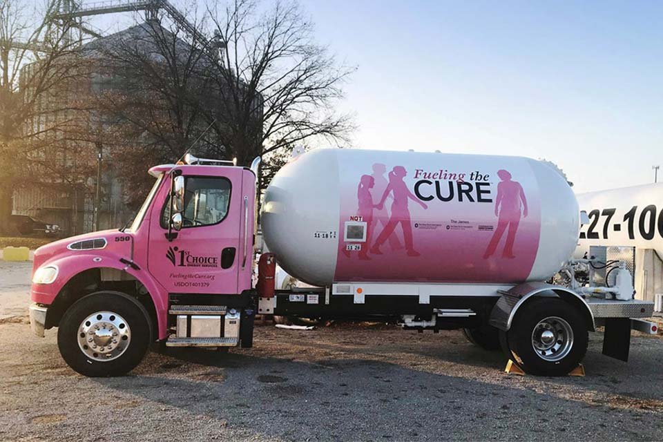 fueling the cure truck