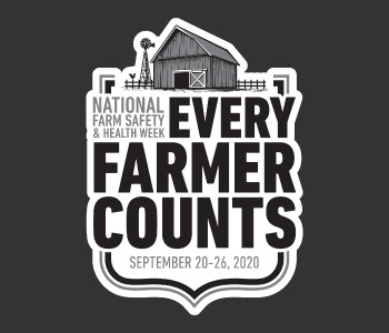 National Farm Safety & Health Week logo