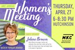 MKC to Host Women's Meeting on April 27