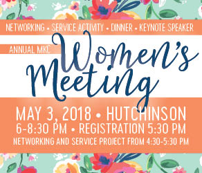 Don't Miss the 2018 Women's Meeting on May 3