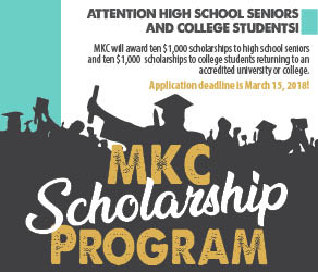 Apply for the 2018 MKC Scholarship Program