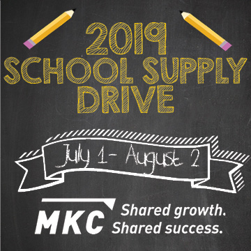 Helping Communities Through First-Ever School Supply Drive