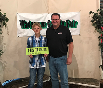 NuWay-K&H Cooperative Supports Local 4-H Auctions
