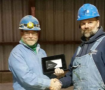 Dave Capes Receives Five-Year Award