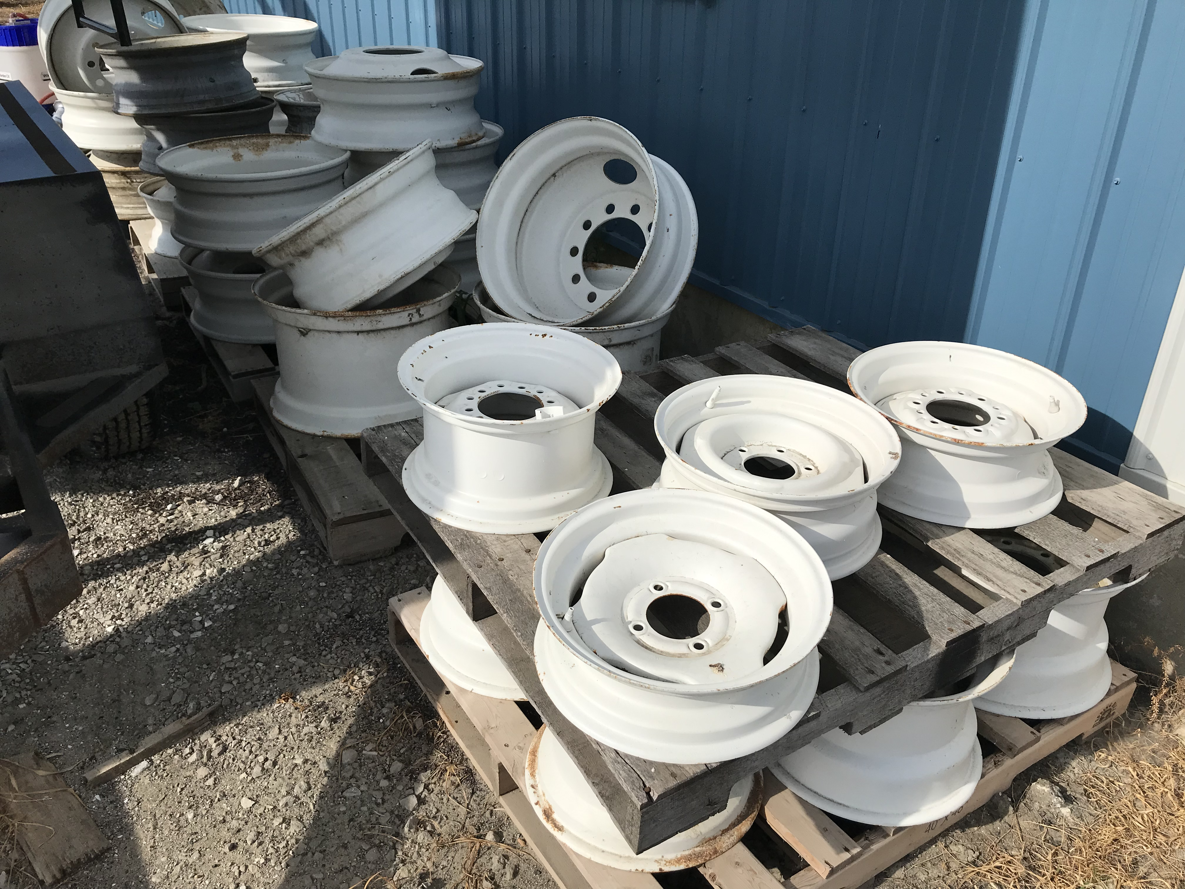 Assorted Steel Rims