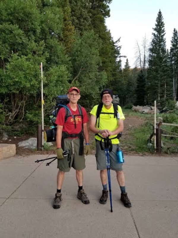 Jim S. and Paul V. - Backpacking in Colorado