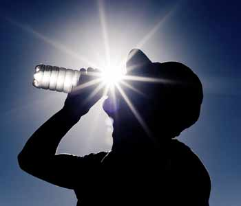 April Safety Tip: Beating the Heat by Staying Hydrated
