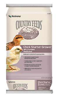 Nutrena Feed Country Feeds Chick Starter Grower