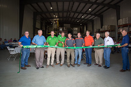 Horace Feed Mill Ribbon Cutting
