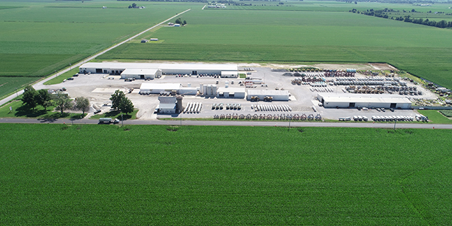 Aerial view of Montrose Location