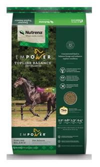 Nutrena Feed Empower Topline Balance Horse Feed